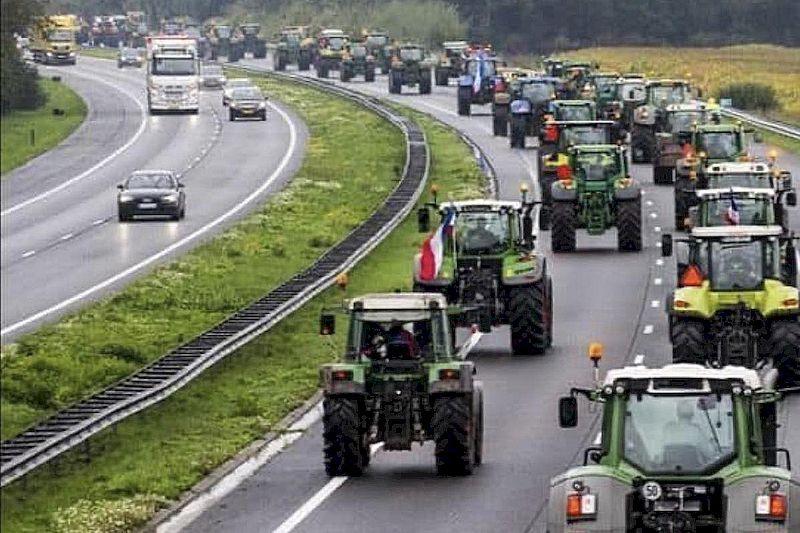 На Харківщині фермери протестували проти продажу земель