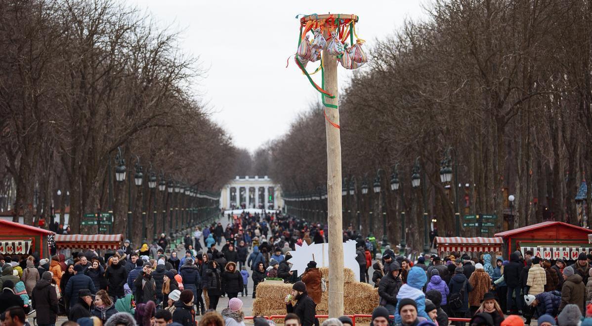 У парку Горького святкуватимуть Масляну