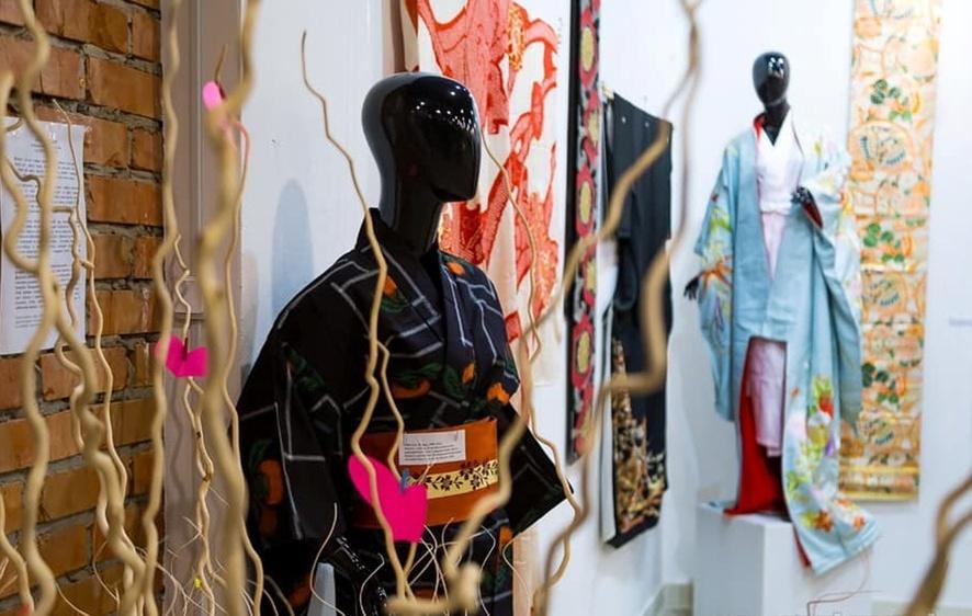 У Харкові проходить виставка кімоно «Вітер кохання»
