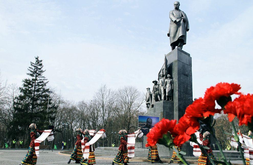 Харківщина відзначила день народження Тараса Шевченка
