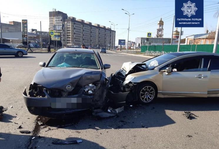 Внаслідок ДТП постраждав пасажир легковика