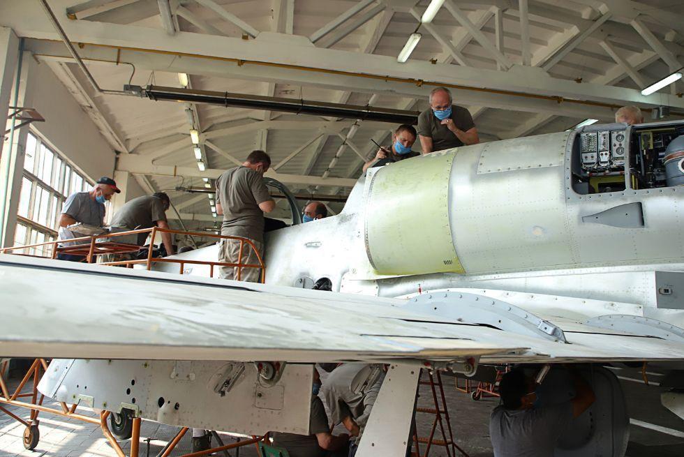 Чугуївський авіаційний ремонтний завод розширює контрактну базу