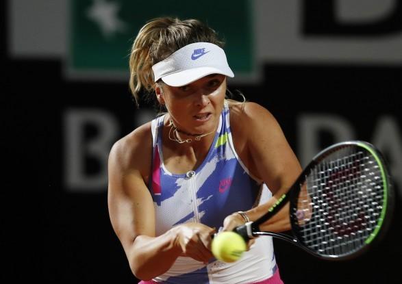 Еліна Світоліна перемогла у першій одиночній тенісній грі після карантину