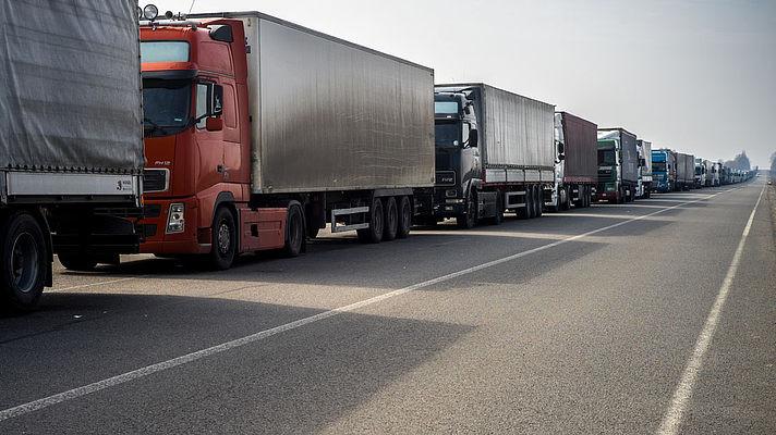 На чверть скоротилися обсяги перевезення вантажів автомобільним транспортом