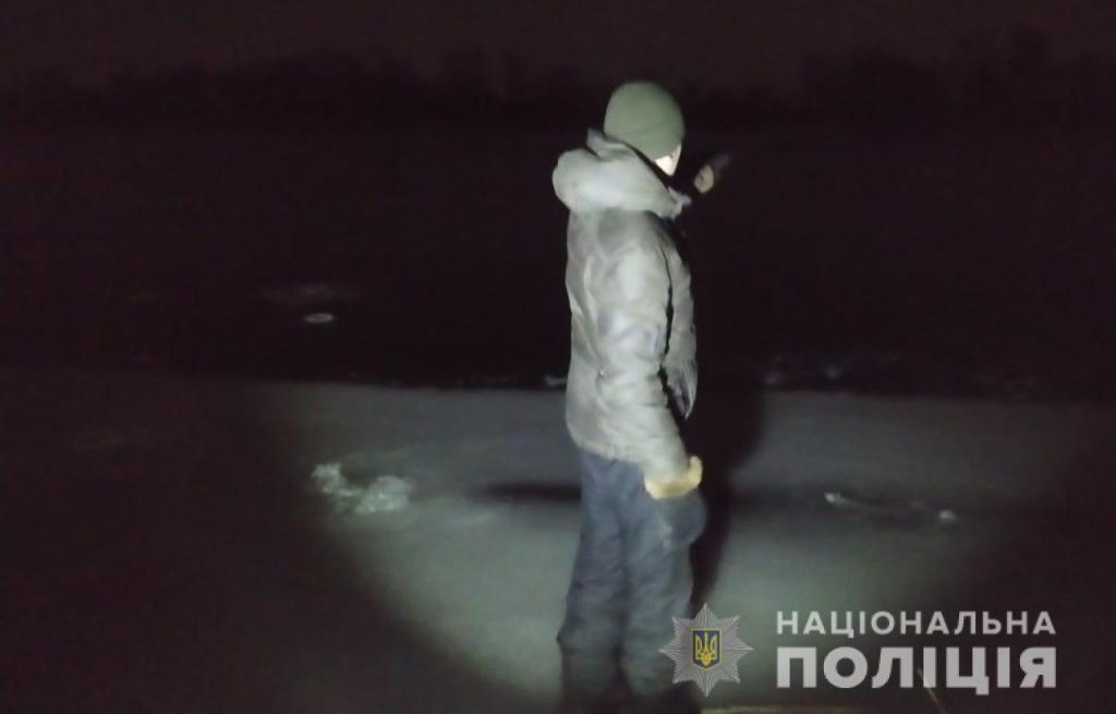 На Харківщині двоє рибалок провалилися під кригу