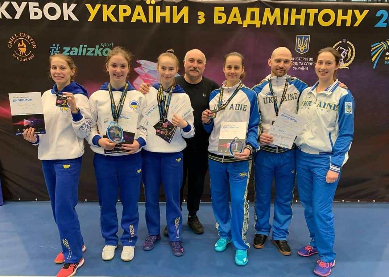 Харківські бадмінтоністи вибороли Кубок України