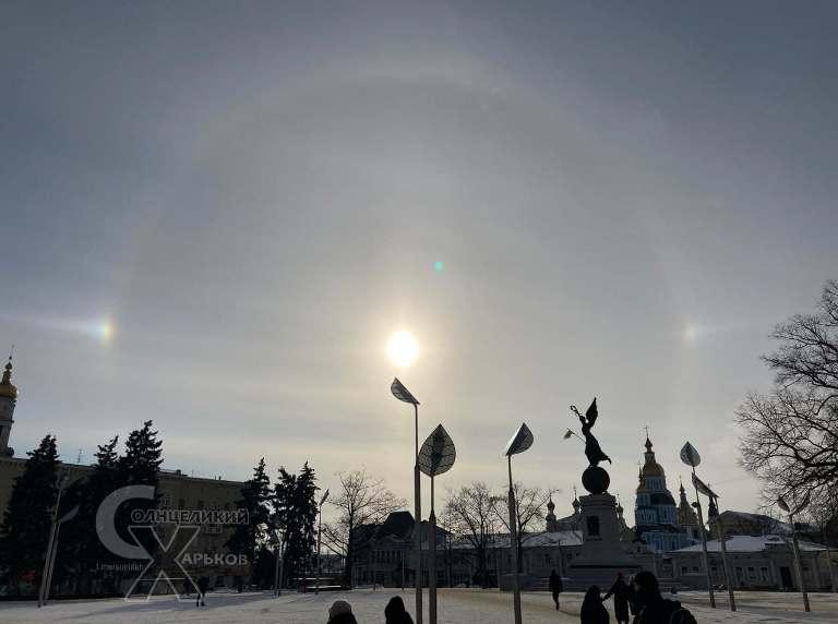 Харків'яни спостерігали рідкісне атмосферне явище