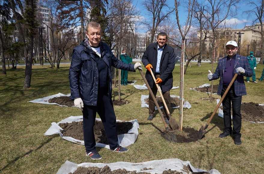 Сергій Чернов взяв участь в екологічній акції «Greening of the planet»