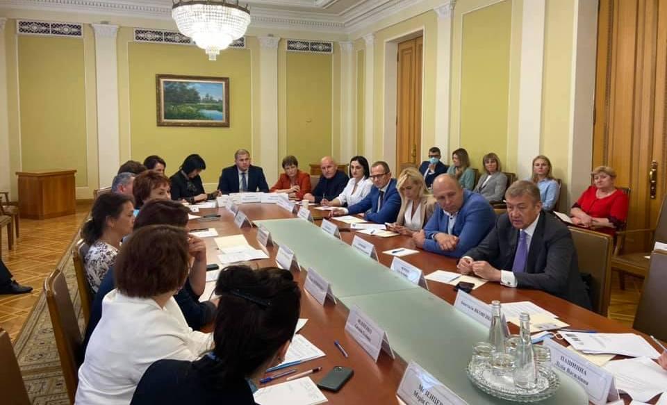 Сергій Чернов взяв участь у зустрічі Делегації України в Конгресі місцевих і регіональних влад Ради Європи
