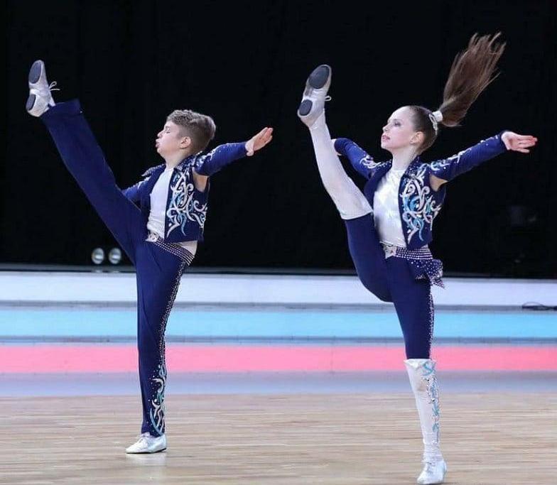 Харківські спортсмени взяли участь у чемпіонаті Європи з акробатичного рок-н-ролу