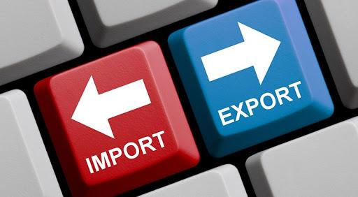 Зросли експортні та імпортні показники