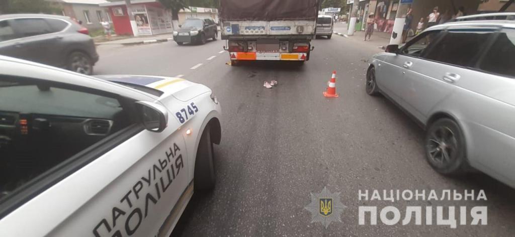 У Новобаварському районі Харкова водій фури на смерть збив жінку-пішохода