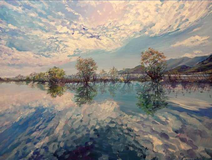 Відкривається виставка живопису «Вітер мандрівних спогадів»