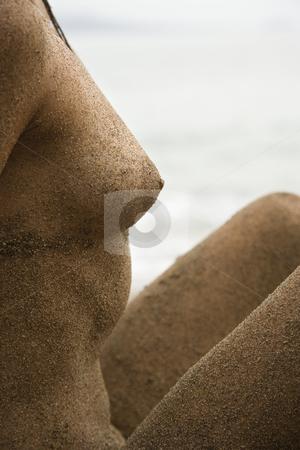 nude female model full body