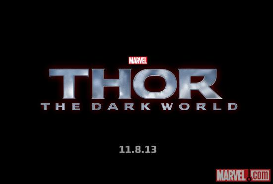 Thor: The Dark World official logo