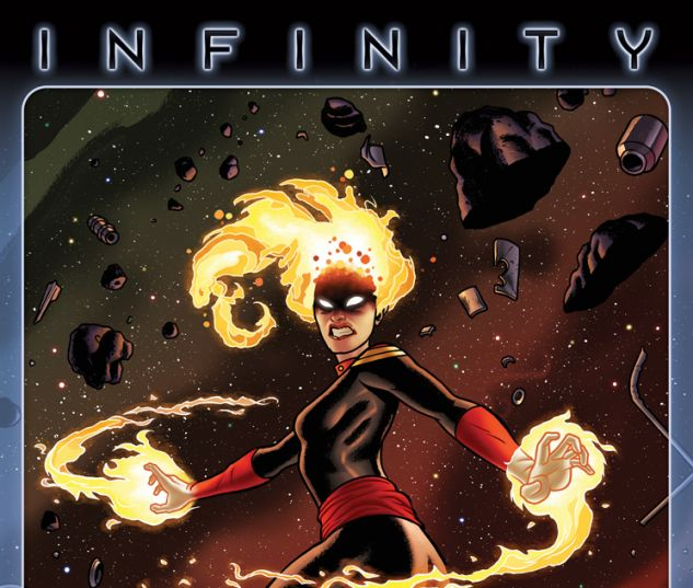 Captain Marvel #15 Infinity cover