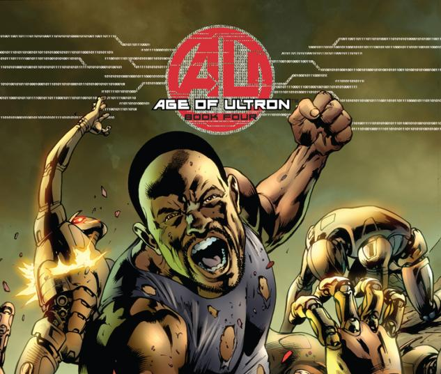 Age of Ultron #4 Bryan Hitch Luke Cage cover Marvel NOW!