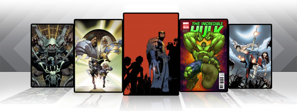 Marvel Comics App: Latest Titles 10/26/11