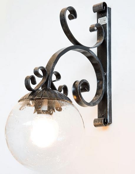 Cupola per lumiforma cilindrica colore bianco. Lampade Linea Tavern Ricambio Vetro Sfera O 20 Per Lampada A Muro Agrizoo Store