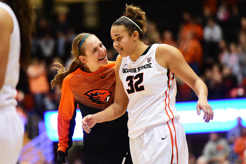 Stanford Cardinal vs Oregon State Beavers Women's ...