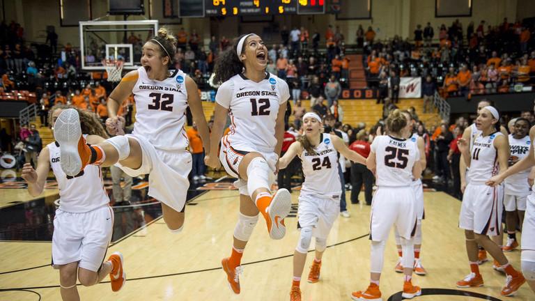 St. Bonaventure vs Oregon State Beavers Women's Basketball ...