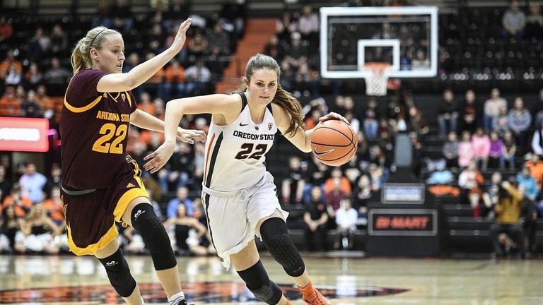 Arizona State Sun Devils vs Oregon State Beavers Women's ...