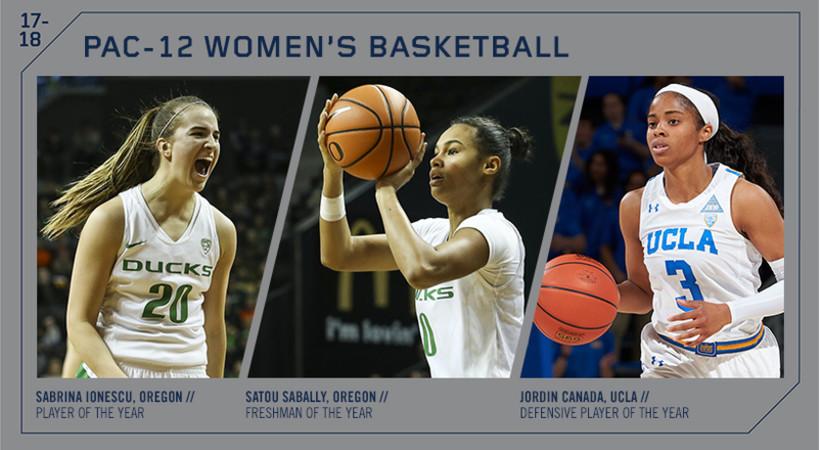 Pac-12 Announces Annual Women's Basketball Awards | Pac-12
