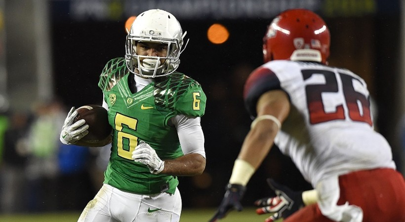 Oregon rolls past Arizona in 2014 Pac-12 Football Championship ...