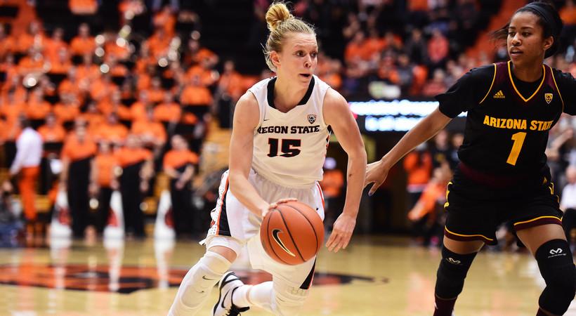 USC Trojans vs Oregon State Beavers Women's Basketball ...