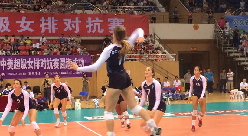 Pac-12 all-star team wraps up first stop on China tour ...