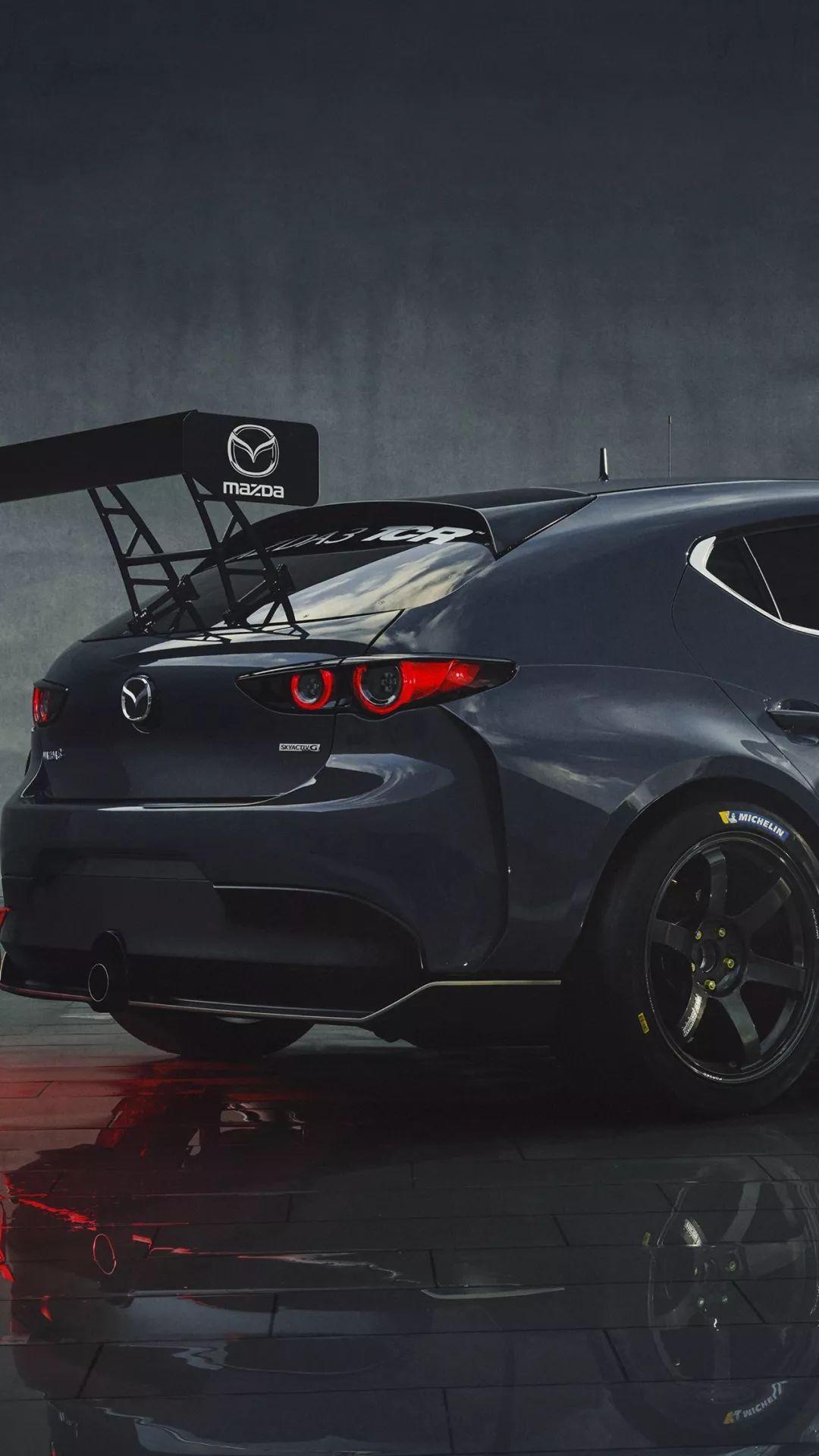 壁紙|來一套Mazda 3 TCR_鳳凰網汽車_鳳凰網
