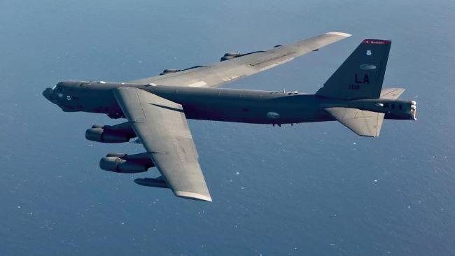 美轟炸機南海飛出詭異路線!專家:可能是試探活動