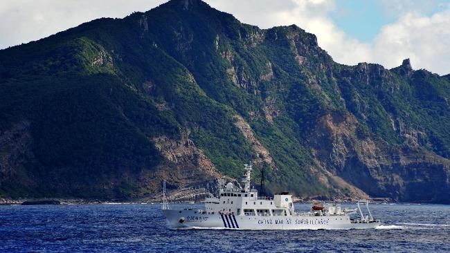 美國挺日本要求中國停止巡航釣魚島 中方駁斥