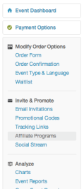How to add Event Affiliates on Eventbrite