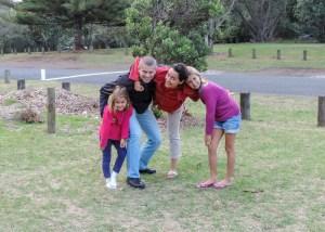 From the left: Nadira, Adam, Arantxa and Aroha