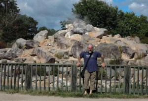 Smoking rockery, wouldn't you just like one of these in your garden?