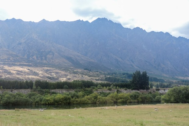 Last view of the Remarkables