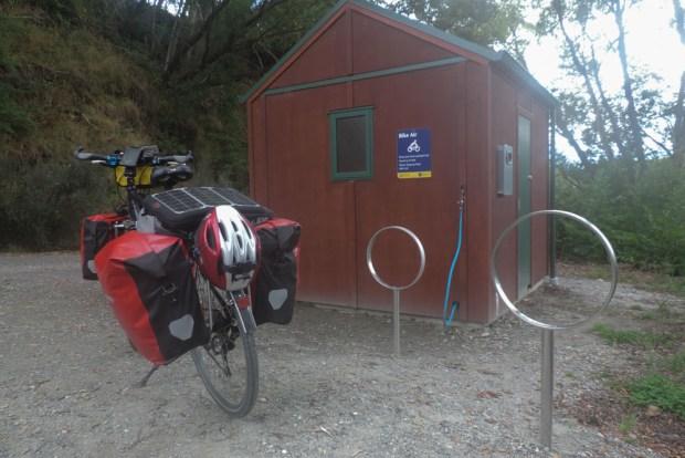 Free public paddock for bikers