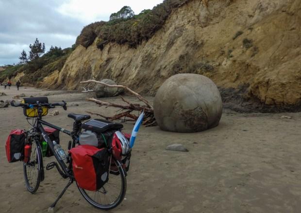 A big boulder