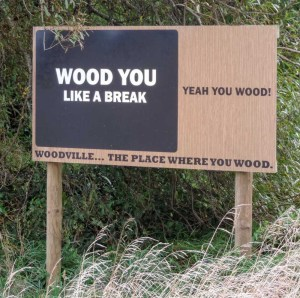 I wood indeed.