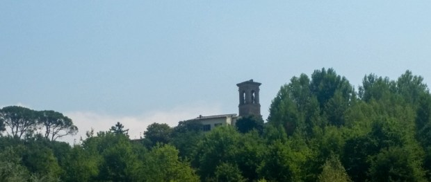 Nothing says central Italy like a turret on a hill.
