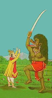 Der Typ mit dem Schwert ist Kali