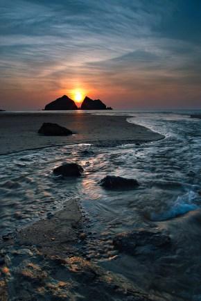 A Holywell sunset