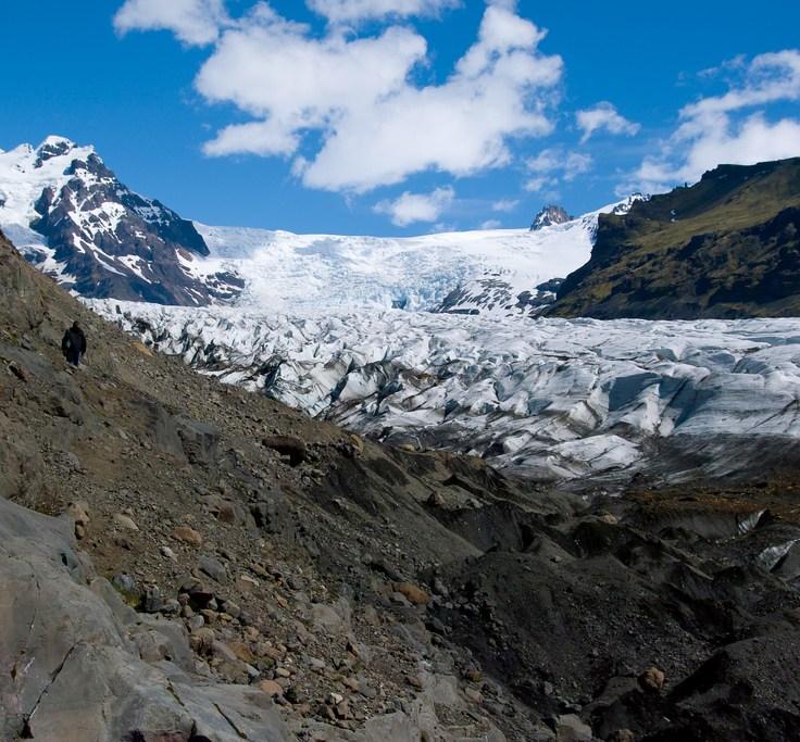 Svinafell glacier