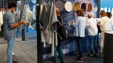 München - 05.09.2018: Munich Fabric Start in München (), Germany on September 5 2018. Photo by: vstudio.photos