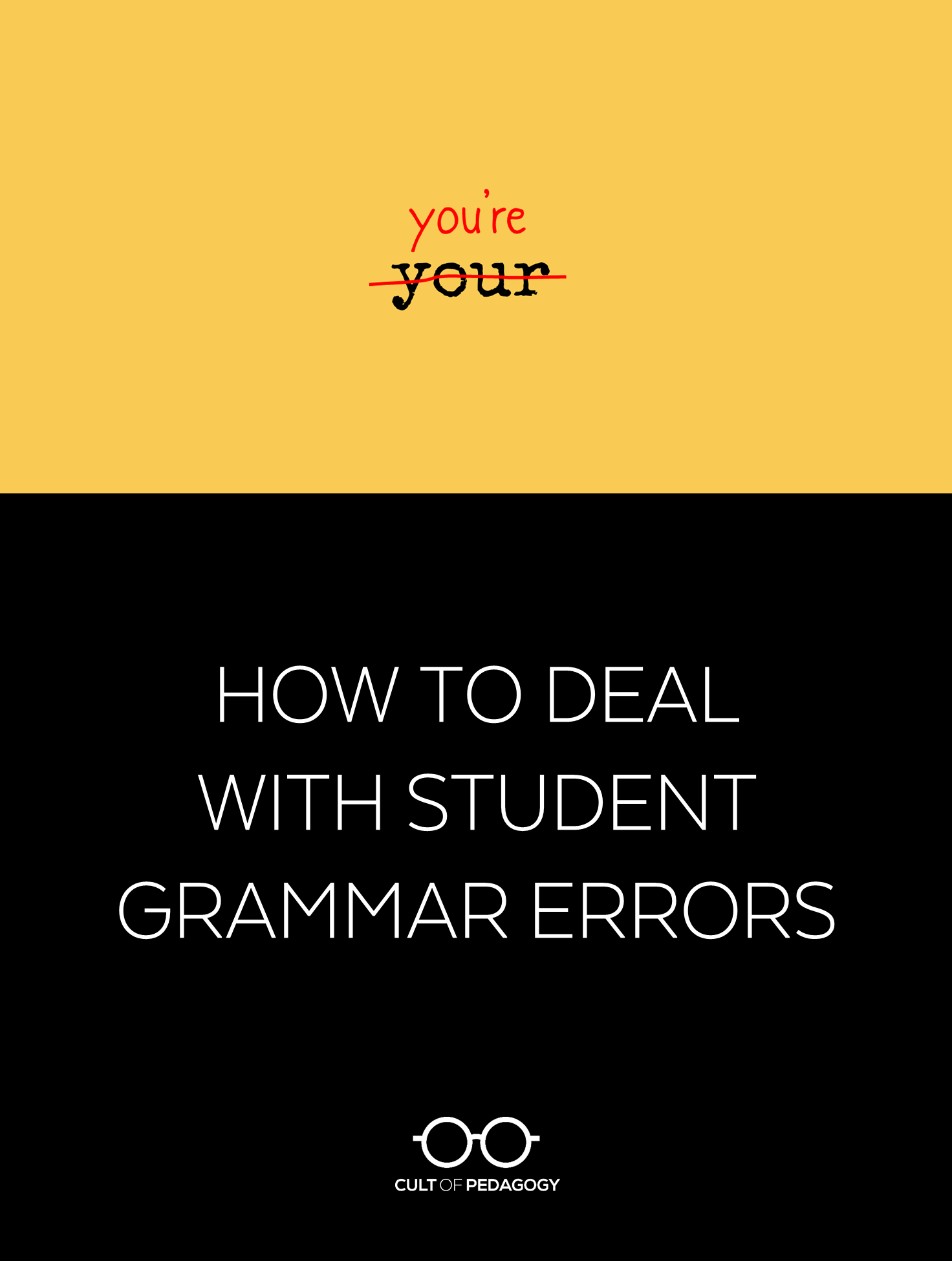 How To Deal With Student Grammar Errors