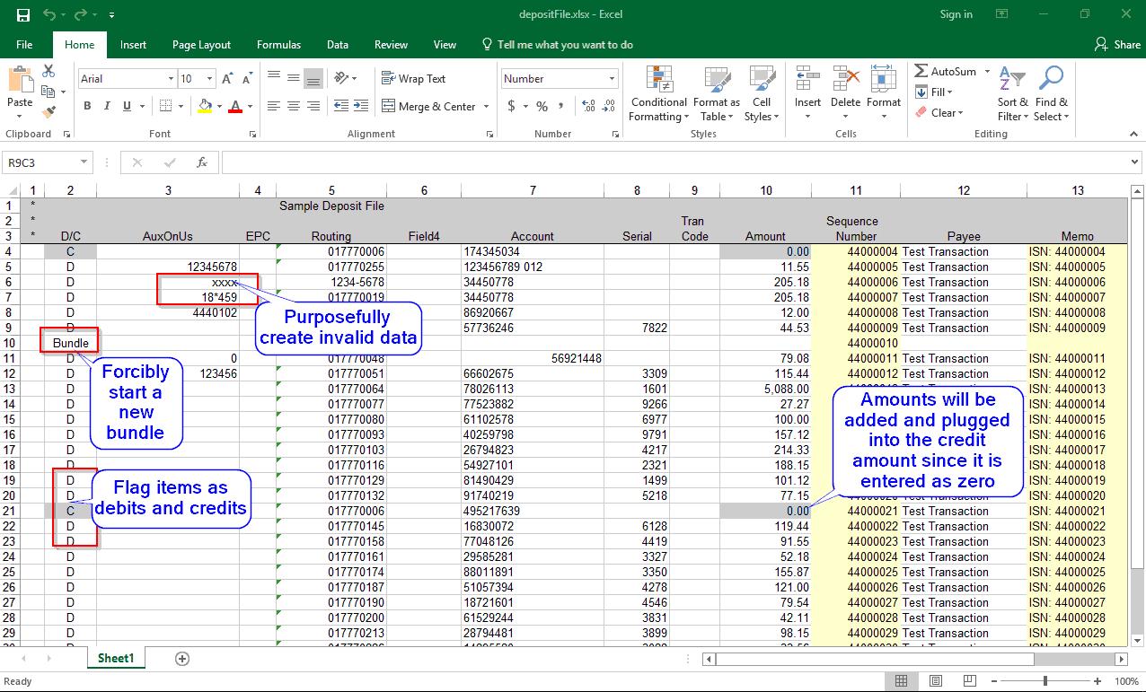 Make – Sample Case File