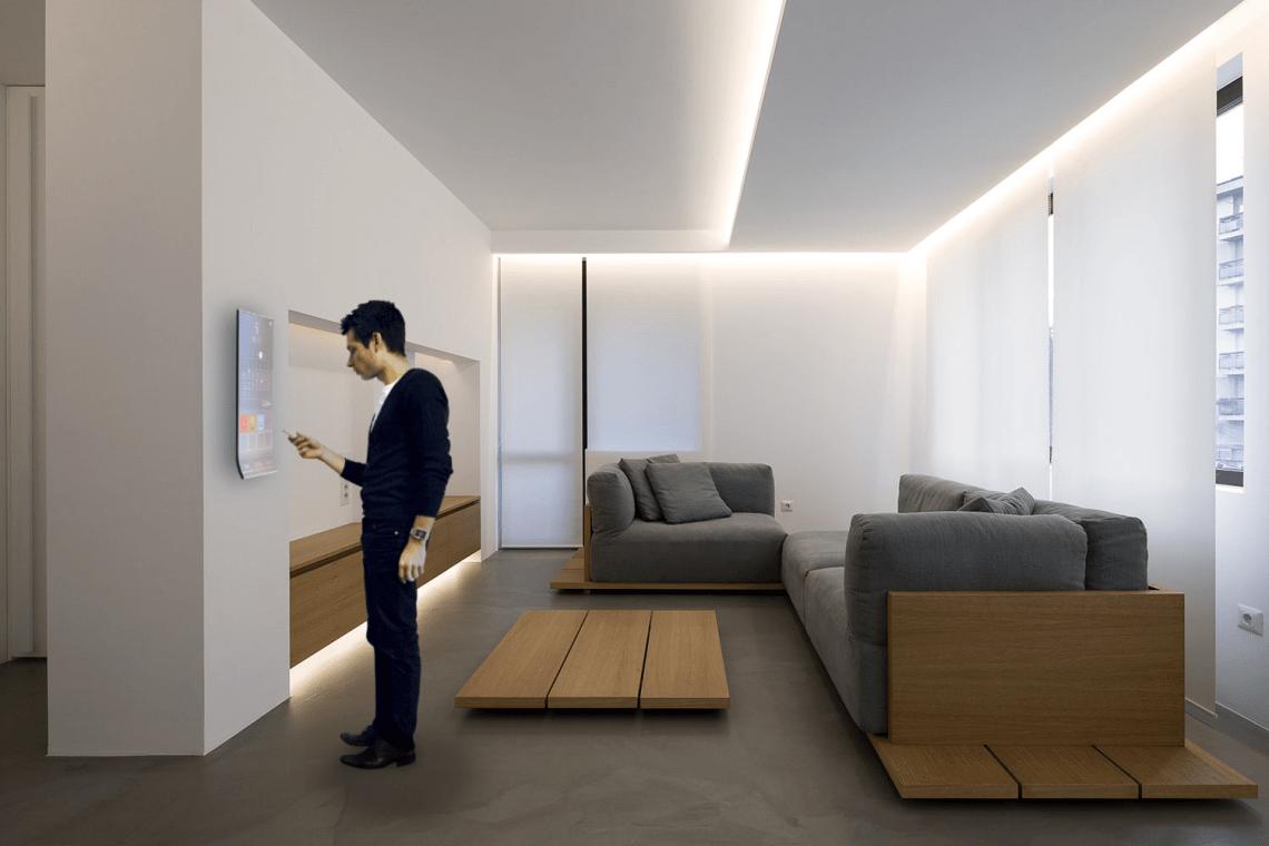 Homey Apartamento interfaz