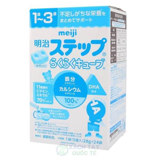 Sữa Meiji số 9 hộp 24 thanh 672g (1 đến 3 tuổi)