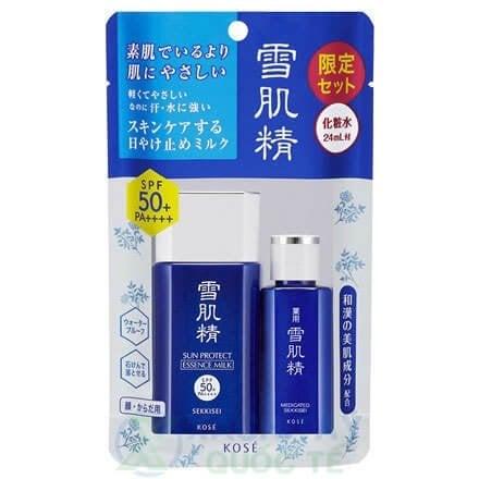 Bộ Kit chống nắng SEKKISEI Sun Protect Essence Milk Kit